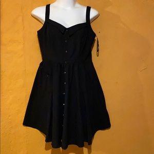 City Chic black sleeveless women dress size M